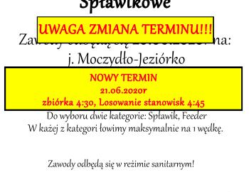 UWAGA ZAWODY 20.06.